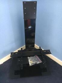 Blaupunkt TV stand with glass shelf