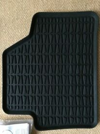 Genuine BMW E84 X1 Rubber Car Mats Anthracite full set