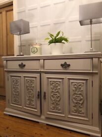 Stunning carved sideboard