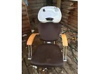 R.E.M. Hair wash chair and basin