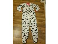 M&s panda onesie brand new with tags age 13/14