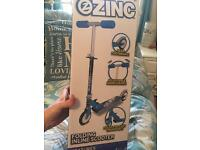 Zinc boys inline scooter new in box