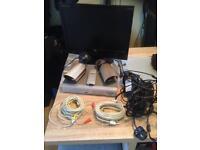 Colour cctv recorder and monitor