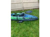 Kayak. Intex K1 Challenger. 1 person