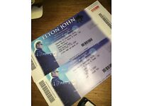 Elton John Newcastle tickets - bargain