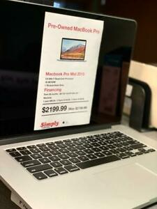 MacBook Pro For SALE - Checked by Apple Certified Technicians