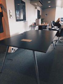 Office Desk, Dark Wood