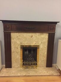 Free Marble Fireplace