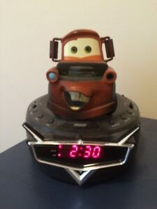 Disney cars mater alarm clock.