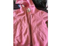 Girls next pink hoody. 8yrs