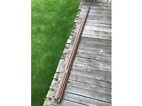 14 lengths of 3 metre copper piping- 15mm & 22mm