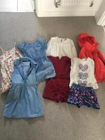 Bundle of girls clothes age 6-7