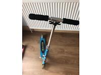 Micro sprite blue scooter