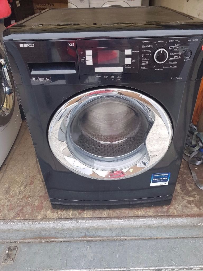 Beko Washing Machine (9kg6 Month Warrantyin Liverpool City Centre, MerseysideGumtree - Black Beko Washing Machine with silver door (9kg, 1200 spin.) Fully Refurbished Excellent Condition 6 Month Warranty Free Local Delivery Removal Of Old Appliance Many Makes and Models Liverpool Appliances 25 County Road Walton L4 3QA Ad ID 125