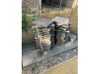 Pressed concrete Paving slabs