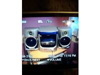 Sanyo music compact system ex Cond