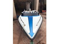 Lovely Speed boat, fully serviced, perfect starter boat.