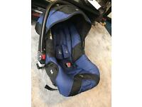 iSafe Baby Car Seat/Carrier: PERFECT Condition, with extras