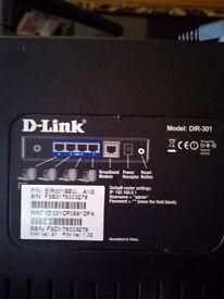Dlink dir301/dsl wifi router