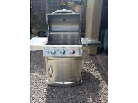 GAS BARBEQUE FOR SALE - LANDMANN STAINLESS STEEL