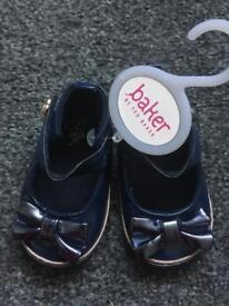 Baby girls ted baker shoes