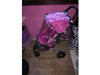 Babystyle Pram small folding used once