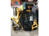 Dewalt Power Tools & bag