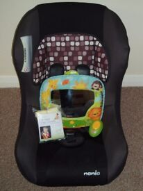 BABY CAR SEAT / MUSICAL AUTO MIRROR / CAR STRAP COVERS