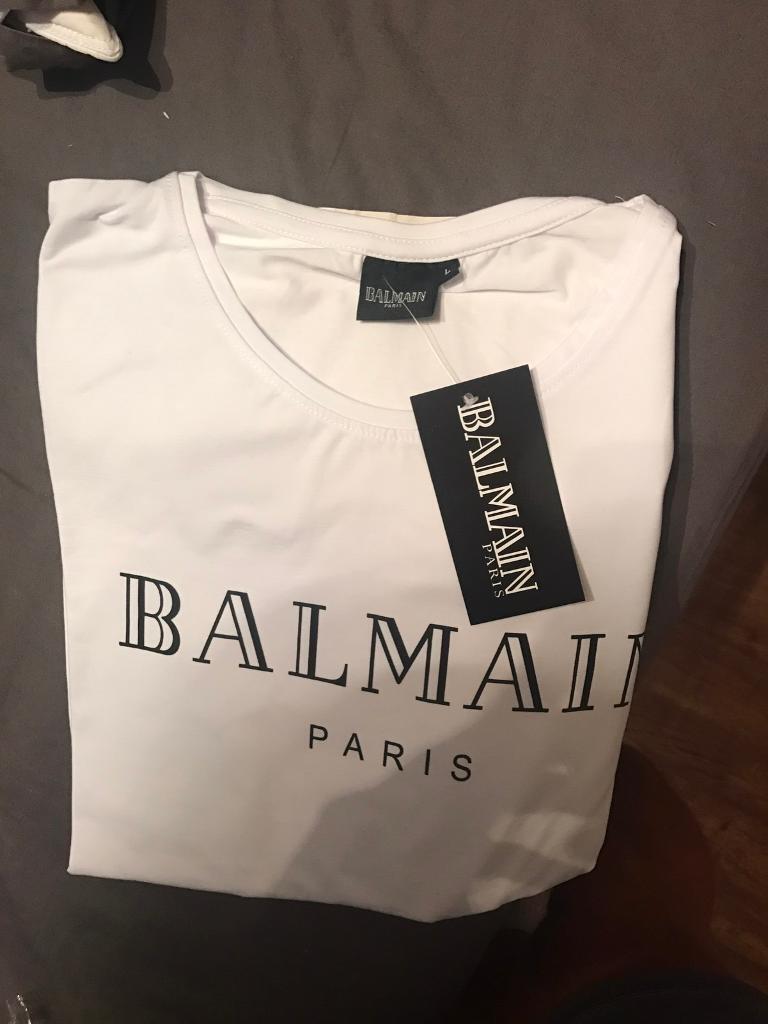 bc04c5ded6395d Men s balmain tshirt. Bexleyheath