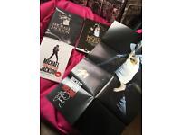 3 Michael Jackson books + poster