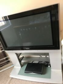 Panasonic television with built in stand