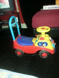 Boys ride on toy car