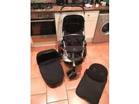 Quinny Buzz Single Pram/Pushchair with Carrycot and Extras