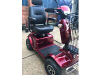 Rascal Pioneer mobility scooter in red. 3 years old in good condition.