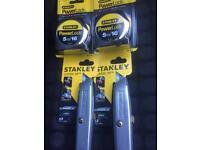 Stanley tools x4 brand new.