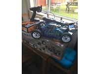 rc kyosho nitro 2.0 dbx buggy boxed 1/10 scale