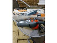 Black and Decker hand hoover.