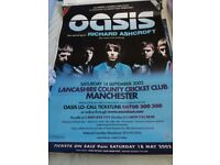 Oasis promotion poster 2002