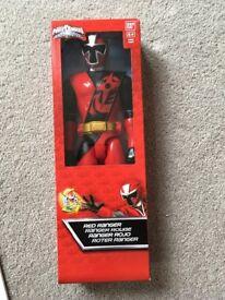 Brand New Red Power Ranger Ninja.