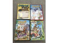 Scooby Doo DVD x 4