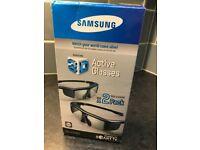2 Genuine Samsung SSG-P31002 3D Active Smart TV Glasses (TWIN PACK)