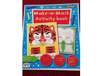 Make a mask activity book
