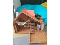 Sylvanian family house and characters