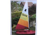 Topper Sailing Boat