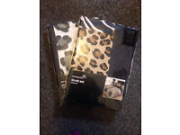 Animal print quilt cover