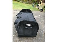 "Protection Racket Drum hardware case with wheels - 40"" x 12"" x 12"""