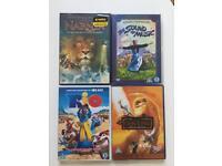 4 DVDs £3