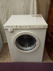 whirlpool 3kg rear vented tumble dryer