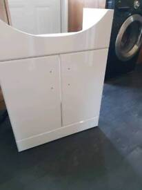 650x435mm Quartz Gloss White Cabinet