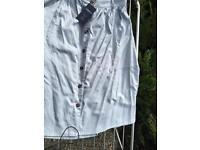 Pocketed summer button up skirt